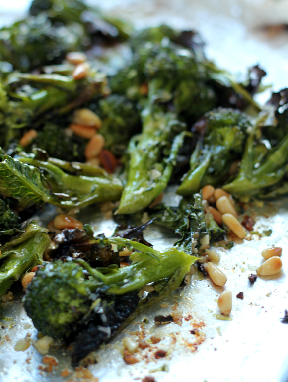 Parmesan Roasted Broccoli from Ina Garten's Back to Basic s